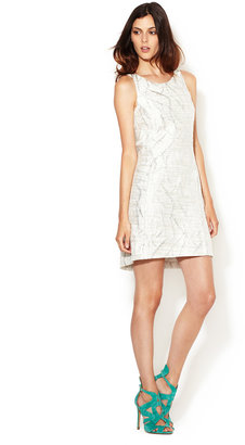 Tracy Reese Brocade Cocktail Shift Dress