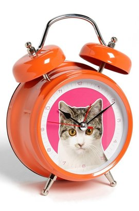 Wanted Cat Alarm Clock (Girls)