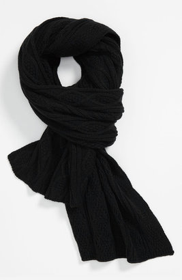 Diesel 'Sdetty' Cable Knit Scarf
