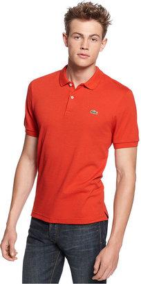 Lacoste L!VE Shirt, Slim Fit Pique Polo Shirt