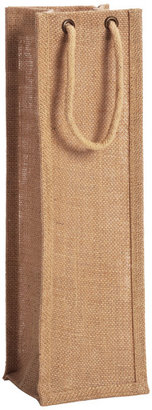 Container Store Natural Jute Bottle Tote