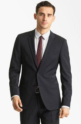 Dolce & Gabbana Solid Suit Grey Melange 41 US / 52 EU