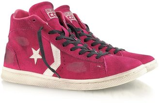 Converse Limited Edition Fuchsia Pro Leather Mid Suede LTD Sneaker