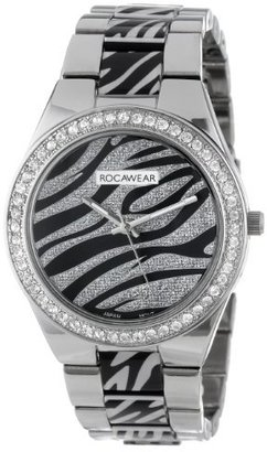 Rocawear Women's RL0124S1-041 Stylish Bracelet Enamel Bezel Watch $71.16 thestylecure.com