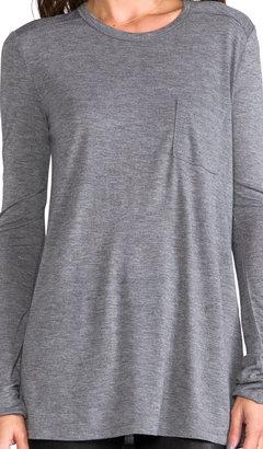 Alexander Wang Classic Long Sleeve Pocket
