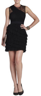 BCBGMAXAZRIA Jaya Pleated Sleeveless Dress