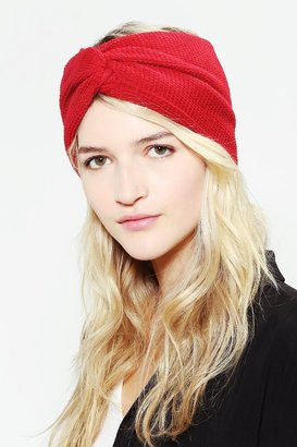 Urban Outfitters Waffle-Knit Headwrap