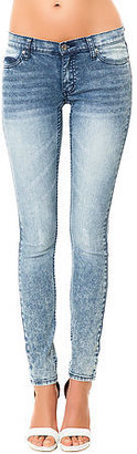 Cheap Monday The Slim Skinny Lowrise Jeans in Advanced Blue