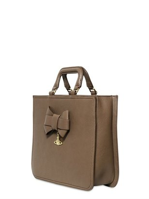 Vivienne Westwood Bow Faux Leather Tote