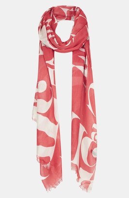 Topshop 'Abstract Letter' Scarf