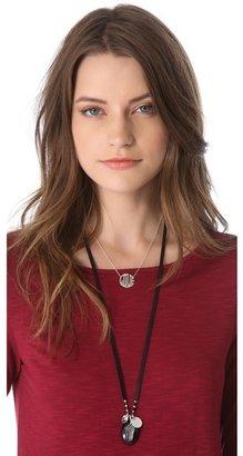 Jennifer Zeuner Jewelry Art Deco Love Necklace