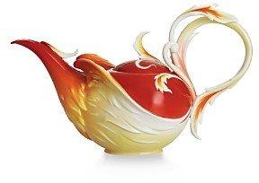 Franz Collection Phoenix in Flight Teapot