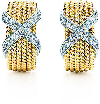 Tiffany & Co. Schlumberger®:Rope Six-Row Ear Clips
