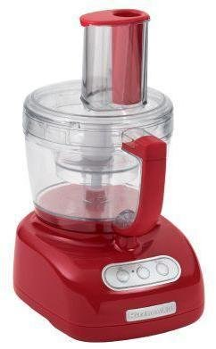 KitchenAid 12 Cup Food Processor in Empire Red