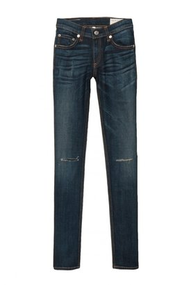 Rag and Bone Rag & Bone Skinny Jean With Holes