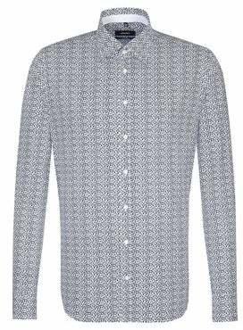 Seidensticker Sailboat Cotton Sport Shirt