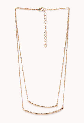 Forever 21 Minimal Layered Necklace