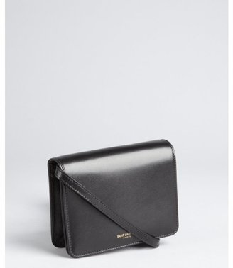 Saint Laurent black leather small crossbody bag