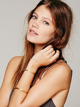 Free People Mettle Etched Double Band Cuff