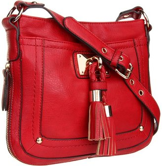 Melie Bianco Michelle Shoulder Bag (Red) - Bags and Luggage