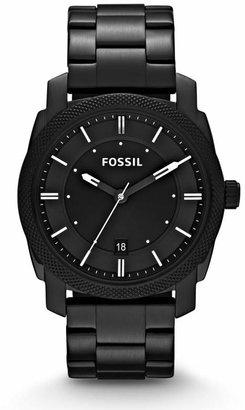 Fossil Machine Black Stainless Steel Watch