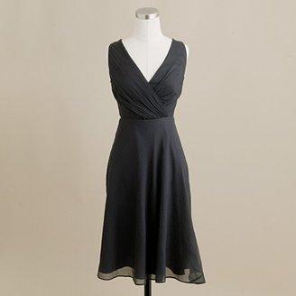 J.Crew Evie dress in silk chiffon