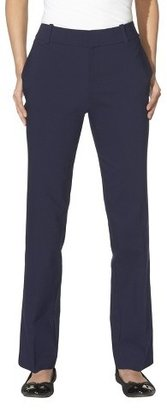 Merona Women's Doubleweave Straight Leg Pant - (Curvy Fit) - Assorted Colors