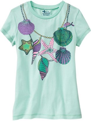 Old Navy Girls Graphic Tees