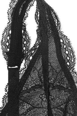 Yummie by Heather Thomson Heidi lace and stretch slip