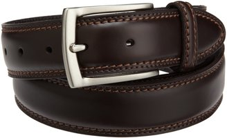 Dockers 1 3/8 in. Feather-Edge Belt With Two-Row Stitching