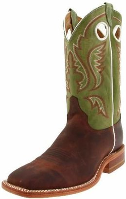 """Justin Boots Men's U.S.A. Bent Rail Collection 11"""" Boot Wide Square Double Stitch Toe Leather Outsole"""