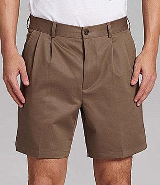 Roundtree & Yorke Pleated Easy-Care Shorts