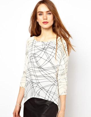 Warehouse Printed Sweater