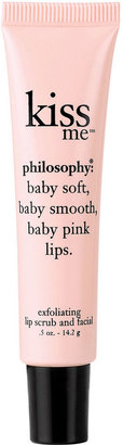 philosophy Kiss Me Exfoliating Lip Scrub, .5 Oz.