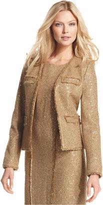 MICHAEL Michael Kors Jacket, Sequin Tweed