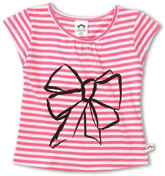 Appaman Kids - Girls' Grammercy Tee (Toddler/Little Kids/Big Kids) (Valentine/Big Bow) - Apparel