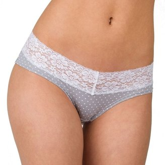 Candies Juniors' Candie's® Microfiber Lace-Trim Hipster