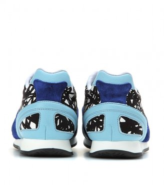 Balenciaga Printed leather sneakers