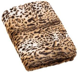 Vue Leopard Faux Fur Throw 127x152cm