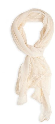 Forever 21 romantic lace scarf