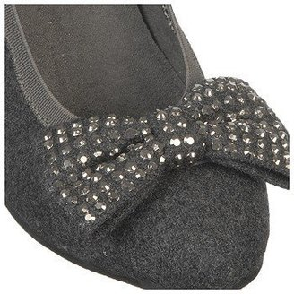 Stuart Weitzman Kids' Keoni Bow Dress Heel Pre/Grade School