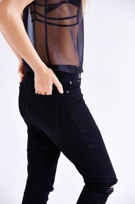 One Teaspoon Zorrow Long Lover High-Rise Jean
