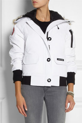 Canada Goose Chilliwack coyote-trimmed down coat