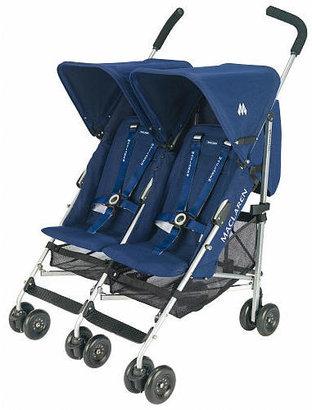Maclaren Twin Triumph Stroller - Navy
