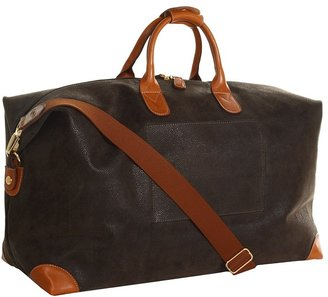 Bric's Milano Life - Micro-Suede Large Holdall Travel Bag