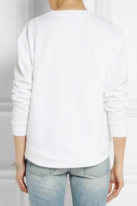 Stella McCartney Appliquéd cotton-jersey sweatshirt