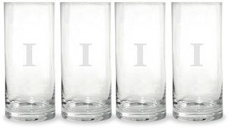 Mikasa Monogram I Highball Glasses, Set of 4