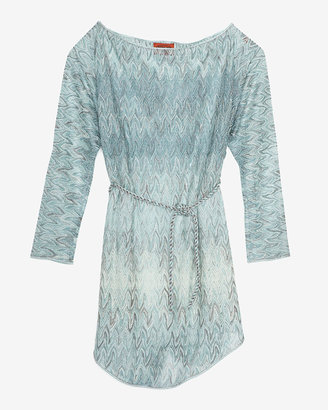 Missoni 20th Anniversary Capsule Collection Exclusive Long Sleeve Mint Dress