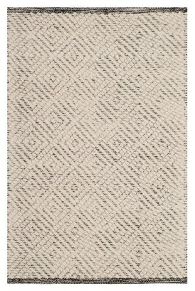 Safavieh Ivory/Light Gray Geometric Tufted Accent Rug - (2'X3')