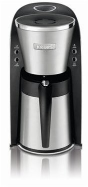 Krups 8-c. Odyssey Stainless Steel Thermal Filter Coffee Maker